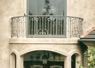 Orange County CA Ornamental Iron BalconyStair Railings