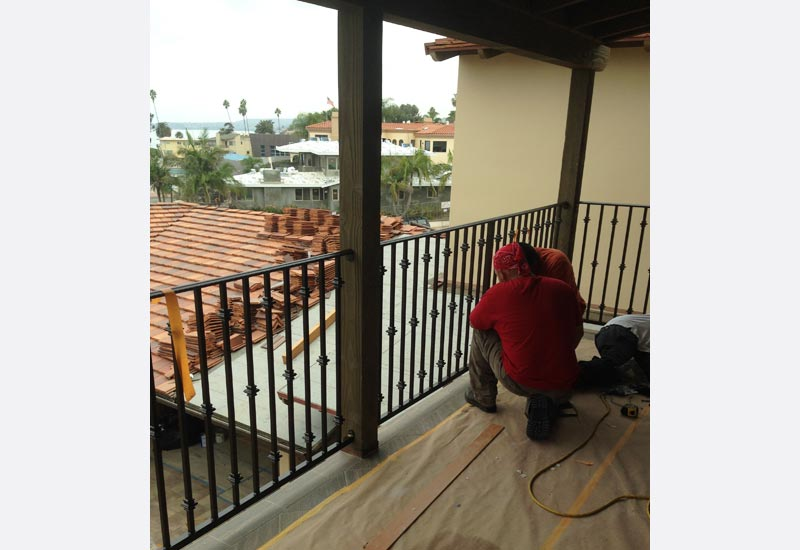 ornamental wrought iron stair railings  fencing  gates  u0026 doors