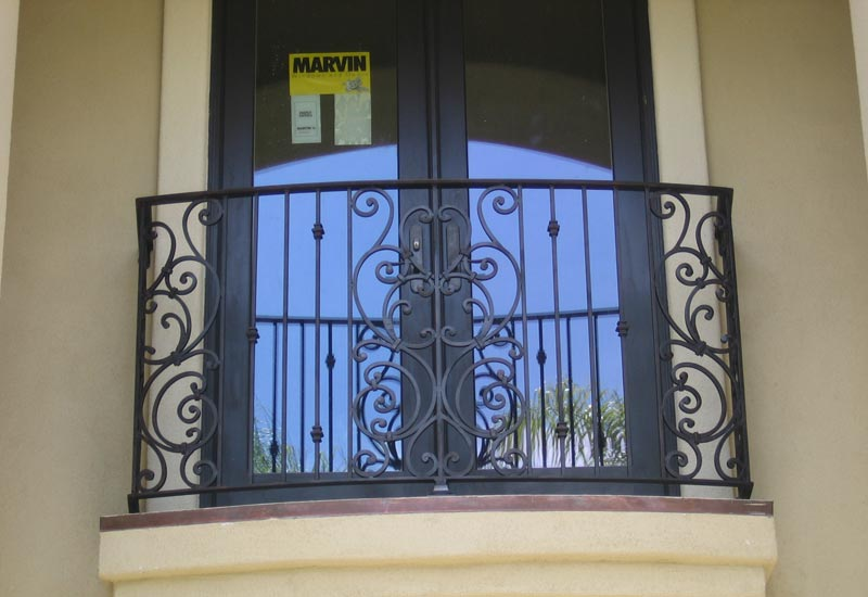 Orlando Wrought Iron Balcony Railing: Orange County, CA Ornamental Iron Balcony/Stair Railings