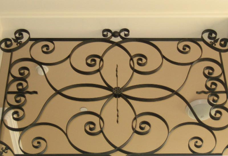 Residential Iron Transom