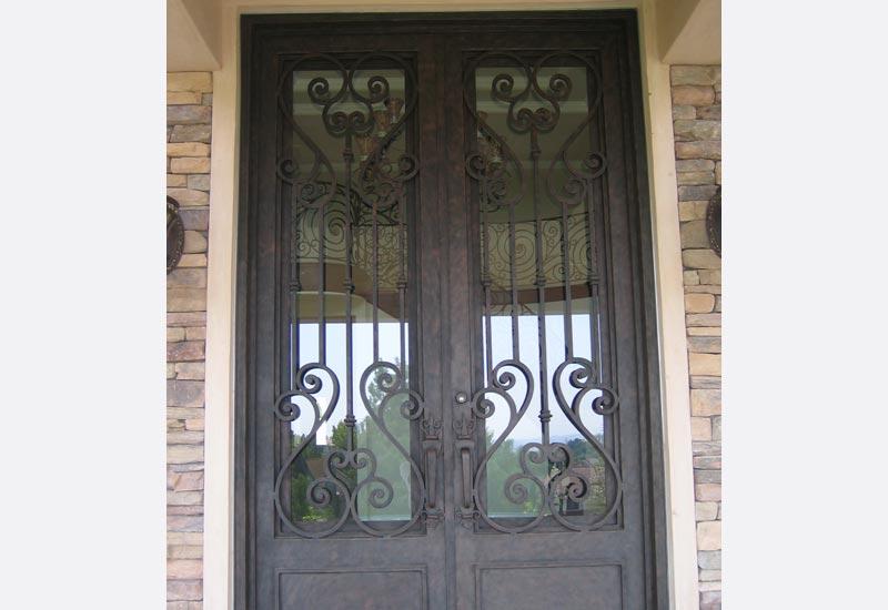 Angels Ornamental Iron Gallery Orange County Ca Ornamental Wrought Iron Doors