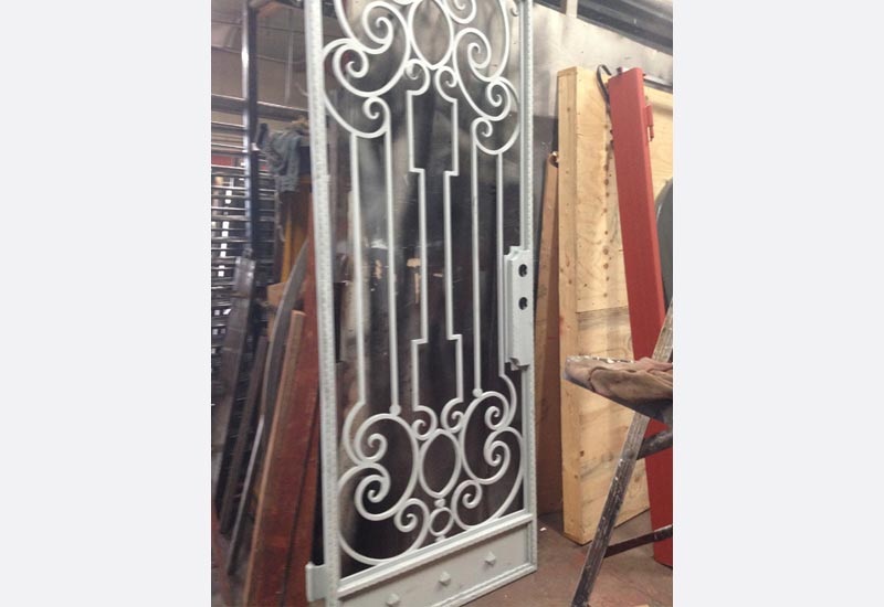 Home style wrought iron gallery