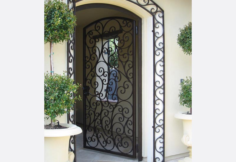 Decorative Steel Front Entry Doors : Angels ornamental iron gallery orange county ca