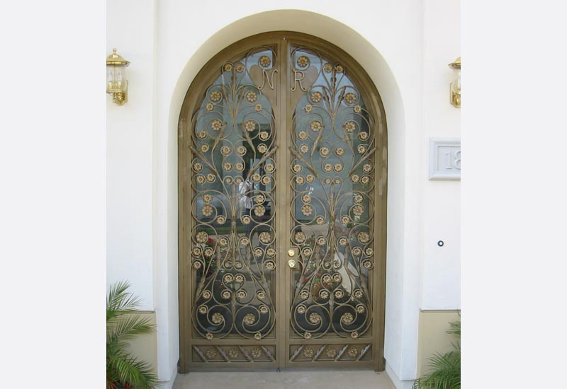 ... Ornamental Iron Doors; OC Double Entry Door