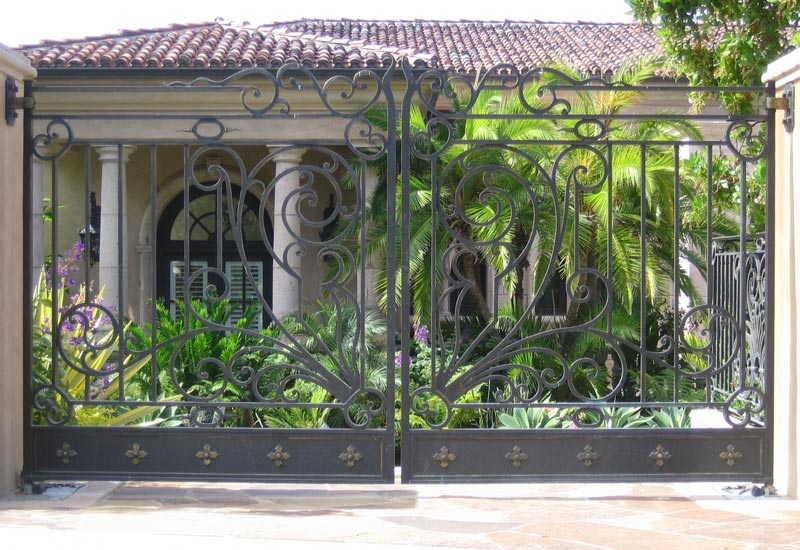 Iron Entry Gate Designs