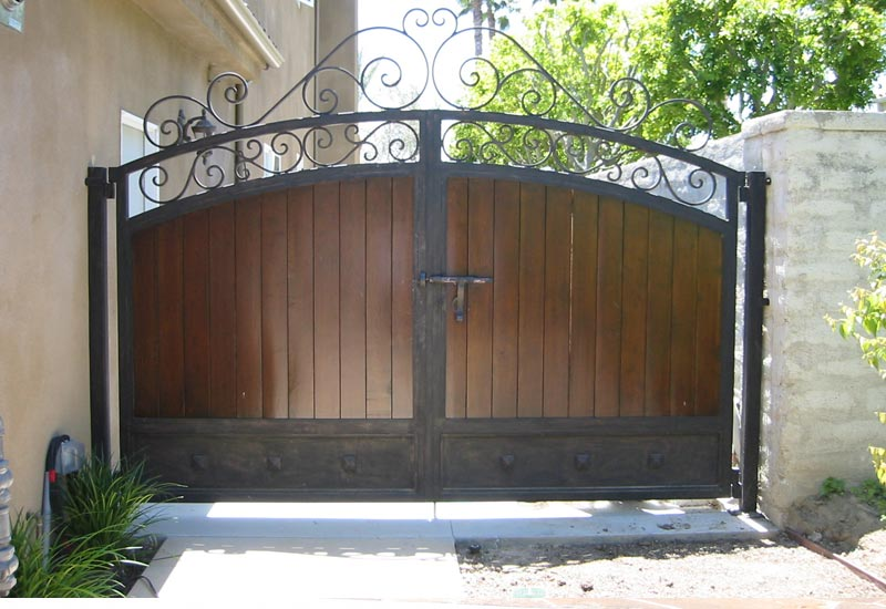 Orange County Ca Iron Gates Wrought Entry Driveway