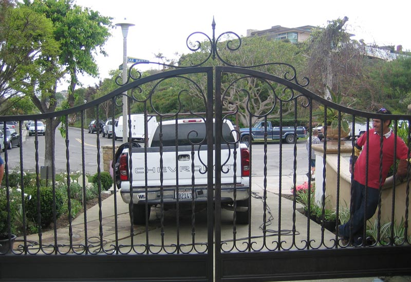 Driveway Security Gate
