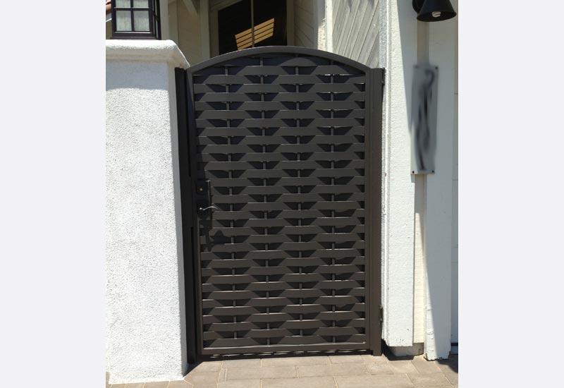 Home Design Gate Ideas: Ornamental Wrought Iron Gates