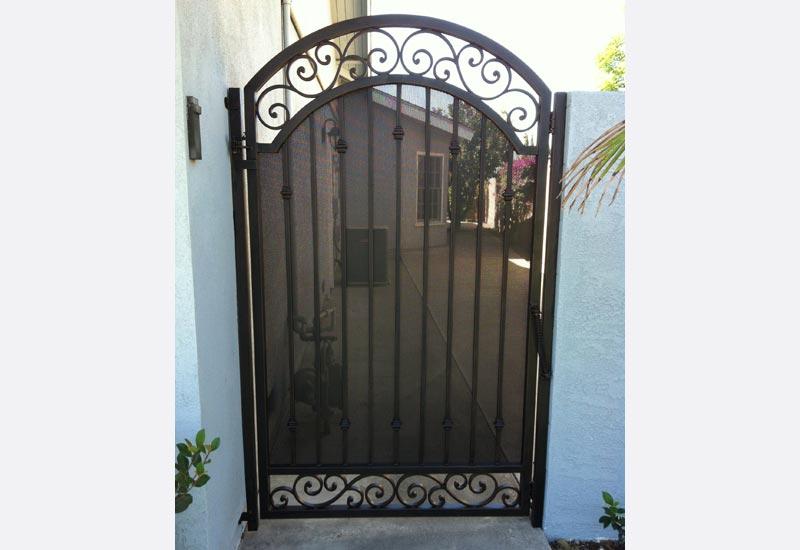 Ornamental Wrought Iron Gates Angels Ornamental Iron