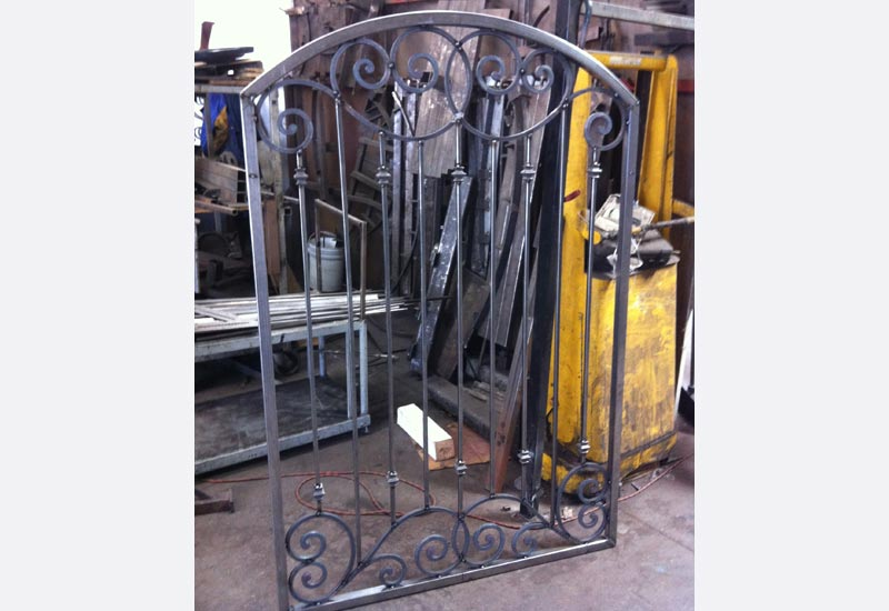 Ornamental Wrought Iron Gates