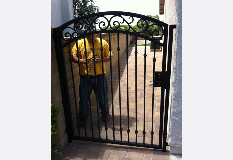 Ornamental Wrought Iron Gates | Angels Ornamental Iron Gallery - Orange County CA : doors gates - Pezcame.Com