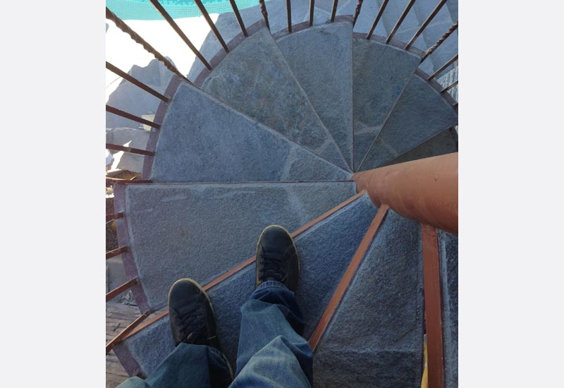 ornamental wrought iron staircase railing orange county ca a