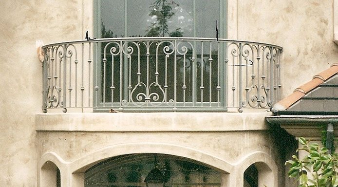 Custom Wrought Iron Stair Railings La Palma Ca