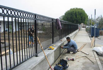 Iron Fence Replacement Orange Co.