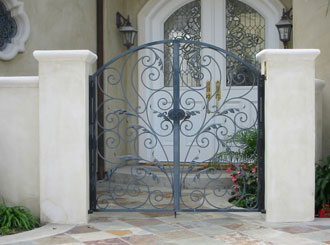 OC Wrought Pedestrian Gate
