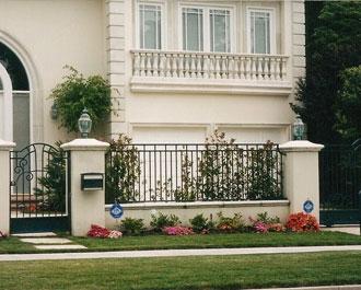 Wrought Iron Property Fences Orange County Ca