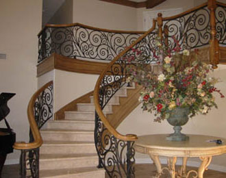 Iron Staircase Installation Orange