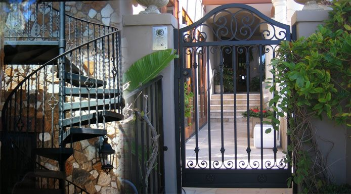 Iron Stair Railings Gates Fencing Amp Doors Orange
